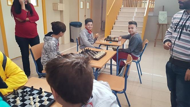 II Torneo Ajedrez 17-18 Foto2