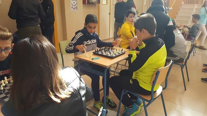 II Torneo Ajedrez 17-18 Foto1