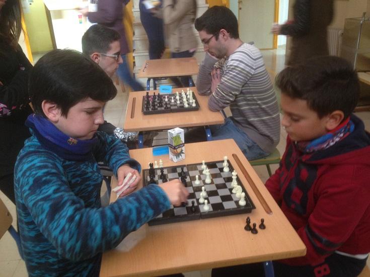 II Torneo Ajedrez 17-18 Foto3